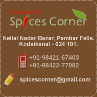 contact Spices Corner